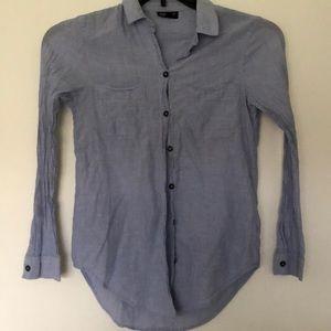 Top shop button shirt